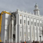 Renovation Work Underway on St. George Utah Temple