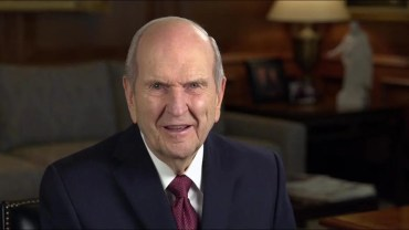 President Nelson Shares Message of Hope during Coronavirus Outbreak