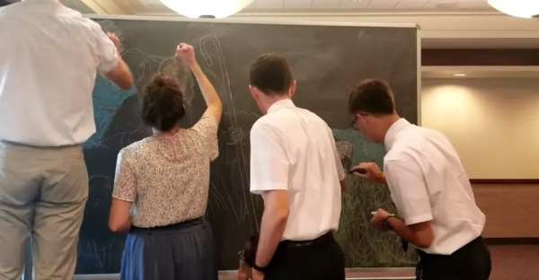 missionary chalk art