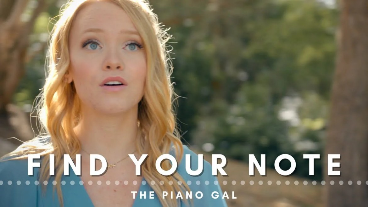 find your note sara arkell the piano gal