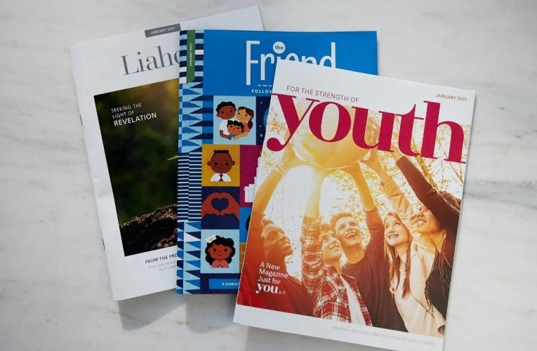 Ensign Magazine Title Will Be Retired With Changes Coming to Church Magazines in 2021
