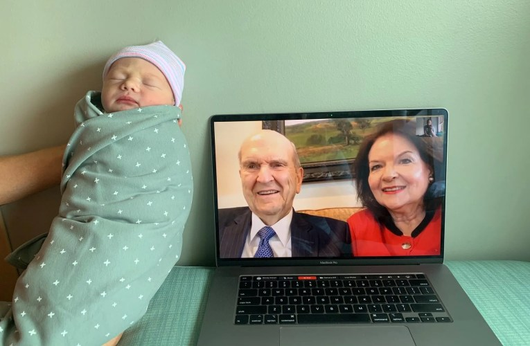 President Nelson Talks Babies and General Conference