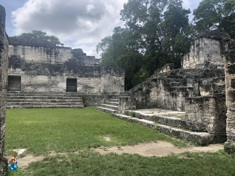 Acrópolis central - Tikal