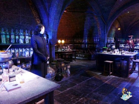 Aula pociones Snape