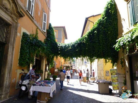 Calles Barrio Trastevere