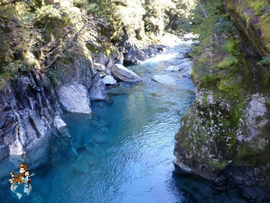Blue Pools - Parque Nacional Mount Aspiring