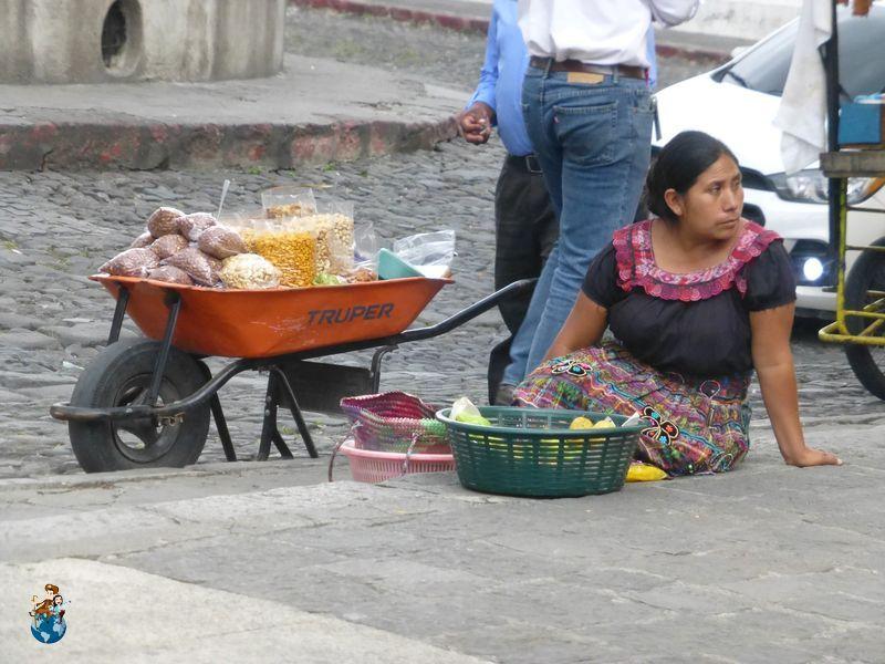 Callejeando por la ciudad de Antigua Guatemala