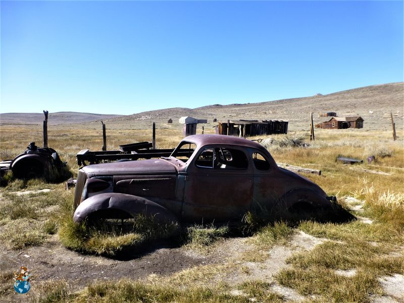 Chevrolet coupe de 1937 en Bodie