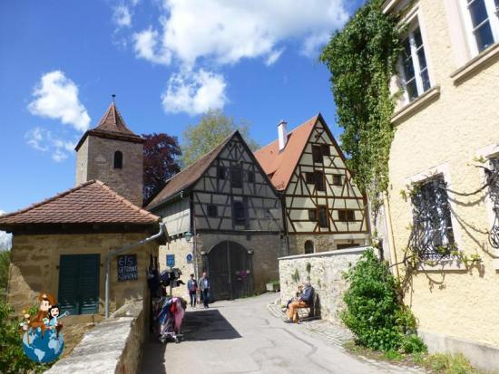 Murallas de Rothenburg ob der Tauber