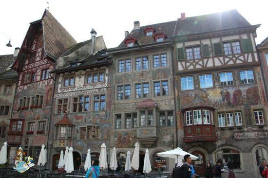 Plaza Ayuntamiento Stein am Rhein