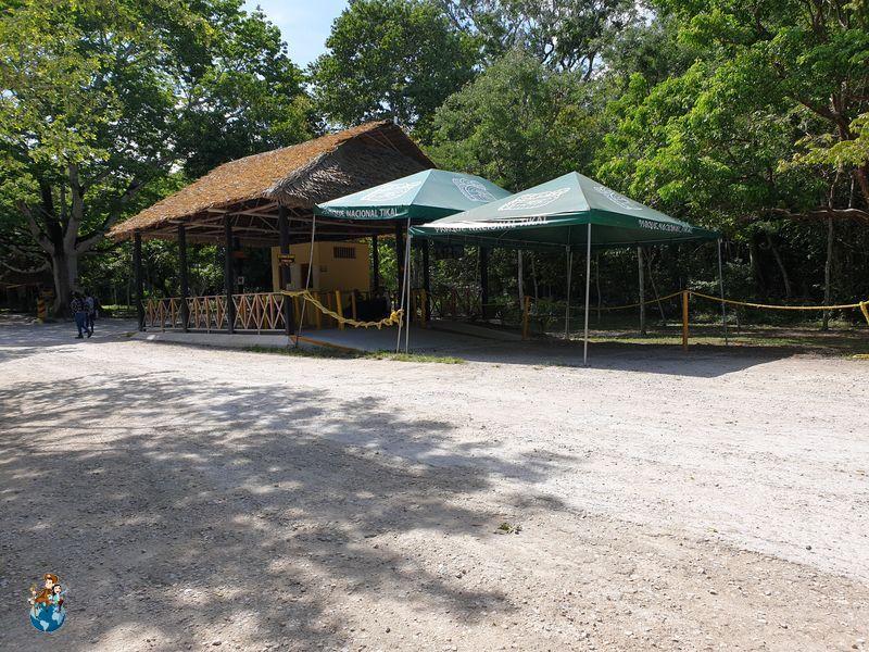 Caseta control entradas en Tikal