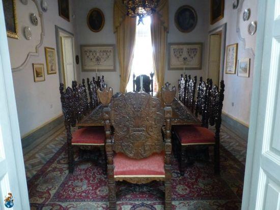 Comedor invierno Casa Rocca Piccola