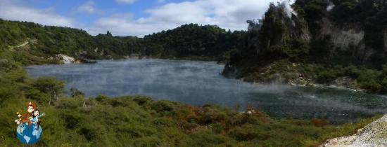 Lago Frying Pan - Valle volcánico Waimangu