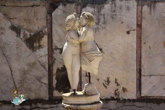 Estatua de Cupido y Psique