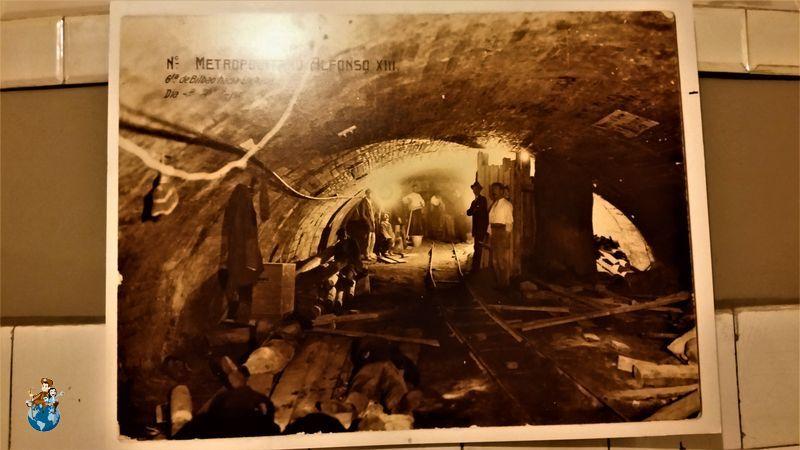 Fotos antiguas Estación fantasma de Chamberí