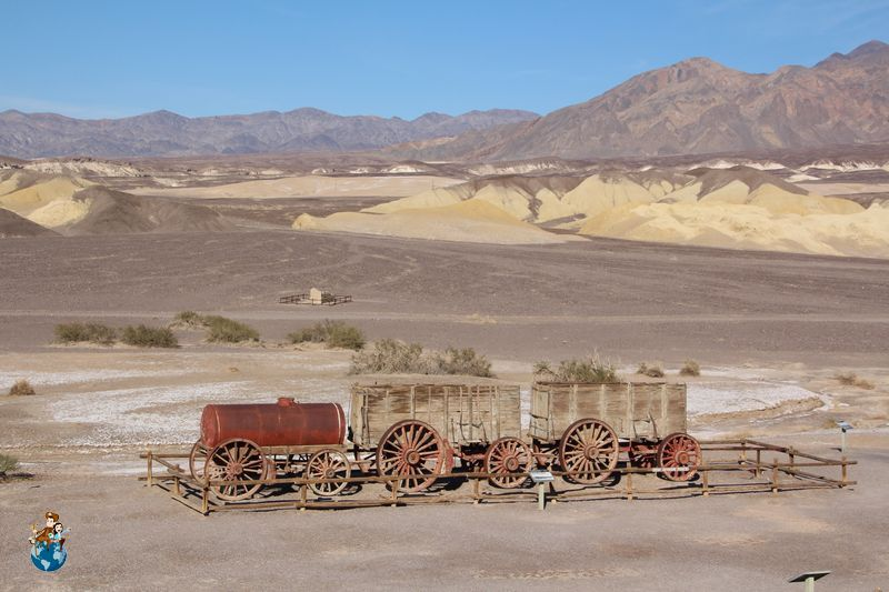 Harmony Borox Works en Death Valley