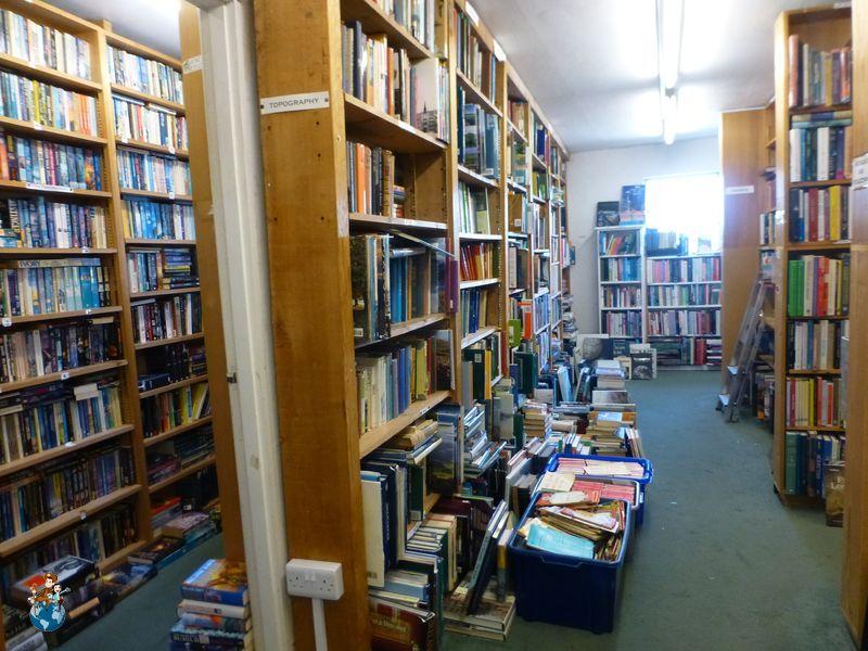 Antigua librería en Hay-on-Wye