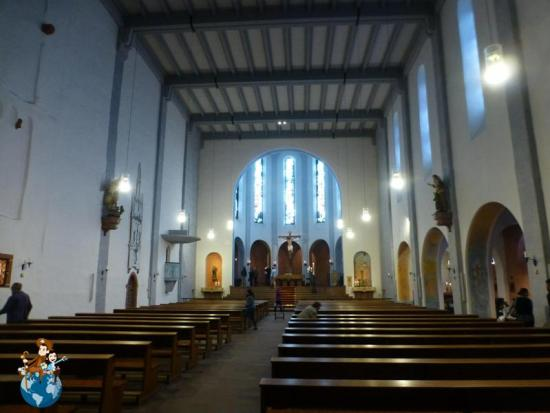 Iglesia de St. Jakobus - Rüdesheim am Rhein