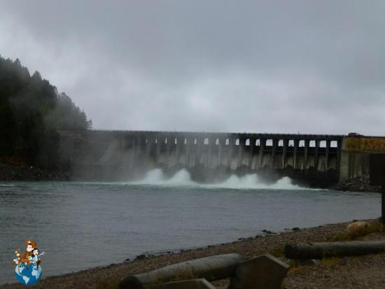 Jackson Lake Dam - Parque Nacional Grand Teton