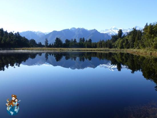 Lago Matheson desde Jetty Point