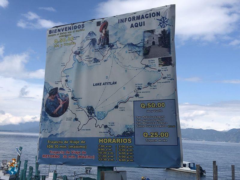 Mapa Lago Atilán