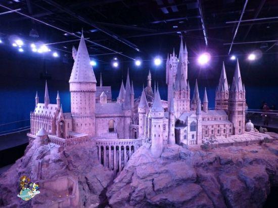 Maqueta Hogwarts