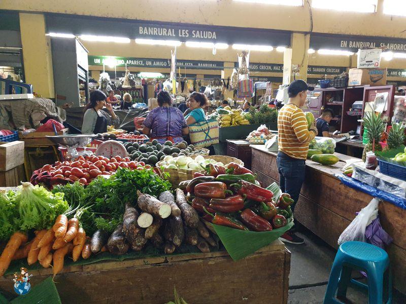 Mercado central de Antigua Guatemala