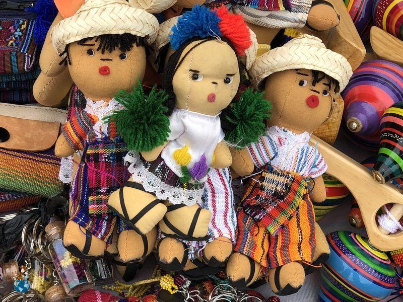 Mercadillo del Carmen en Antigua Guatemala