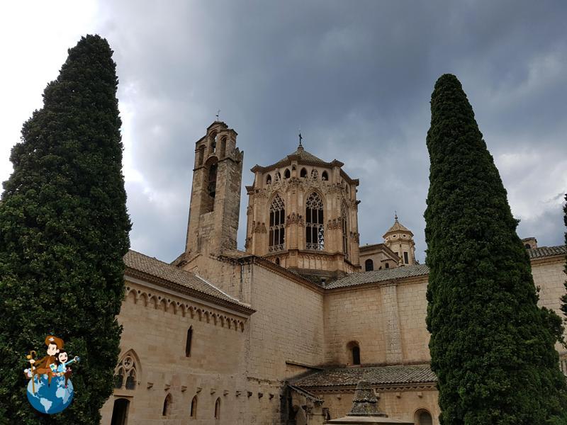 Monasterio de Poblet en la Ruta del Císter