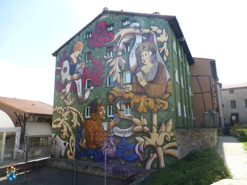 Mural El triunfo de Vitoria - Ruta murales Vitoria - Gasteiz