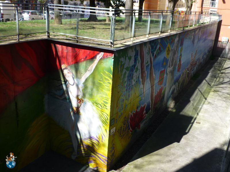 Mural Somos Agua / Somos Arte - Ruta murales Vitoria-Gasteiz