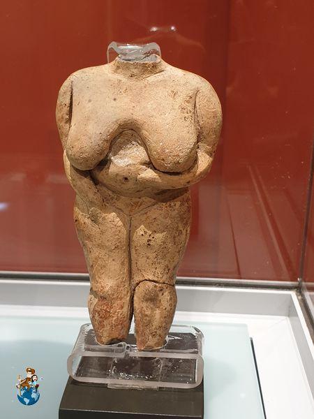 """""""Venus de Malta"""" en el Museo Arqueológico de La Valetta"""