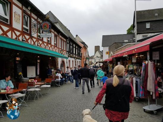 Calle Oberstrasse - Rüdesheim am Rhein