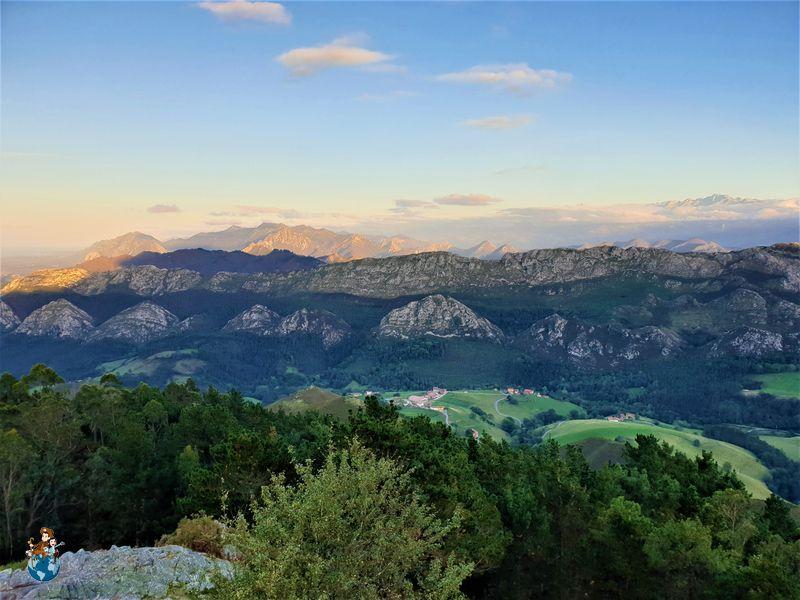 Picos de Europa desde el Mirador de Fitu