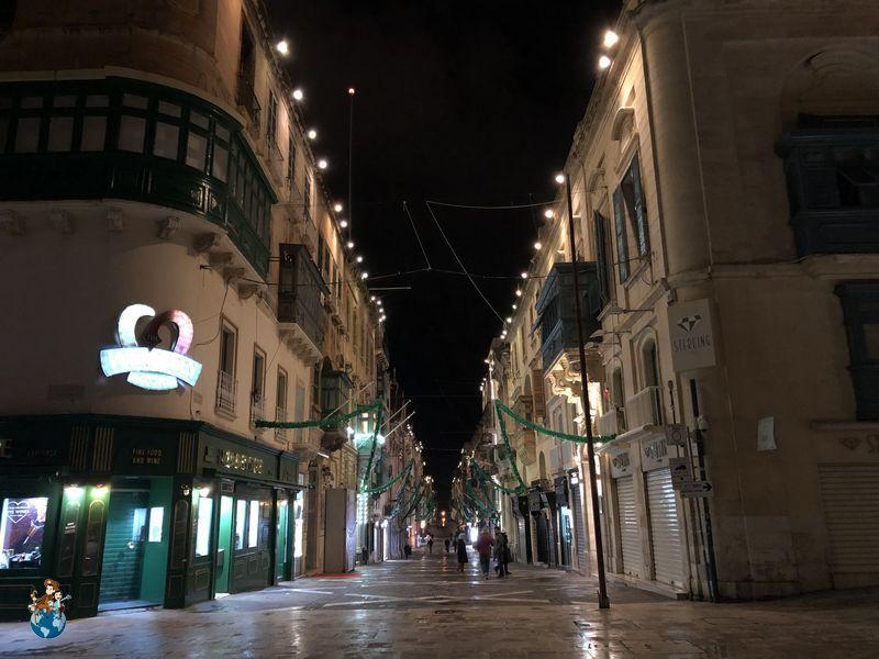 Republic Street en La Valeta