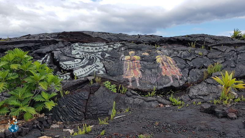 Río de Lava Volcán Kilauea en el Parque Nacional de los Volcanes