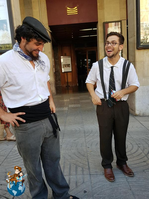 Rutas teatralizadas de Ans Educació en Reus