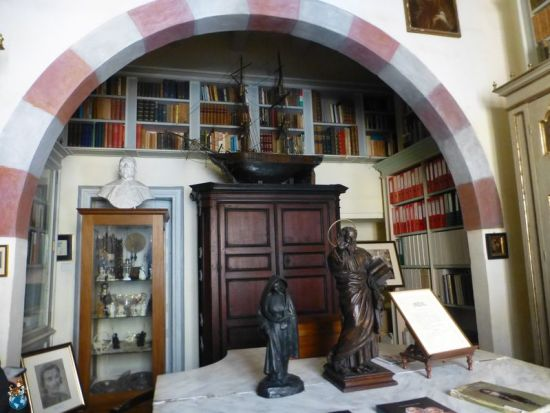 Habitación del archivo - Casa Rocca Piccola