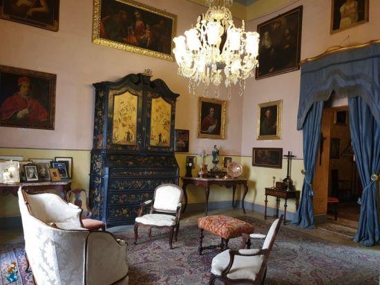 Sala grande - Casa Rocca Piccola