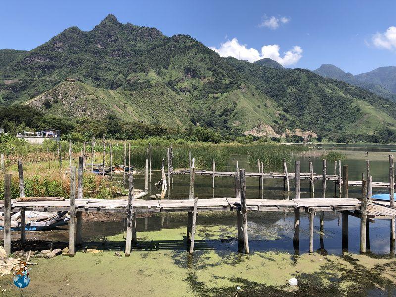 Vistas desde embarcadero San Juan La Laguna