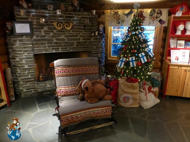 Visita a Santa Claus en Laponia  Callejeando por el Planeta