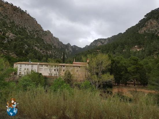 Santuario de la Fontcalda - Ruta verde de Horta de Sant Joan a Benifallet