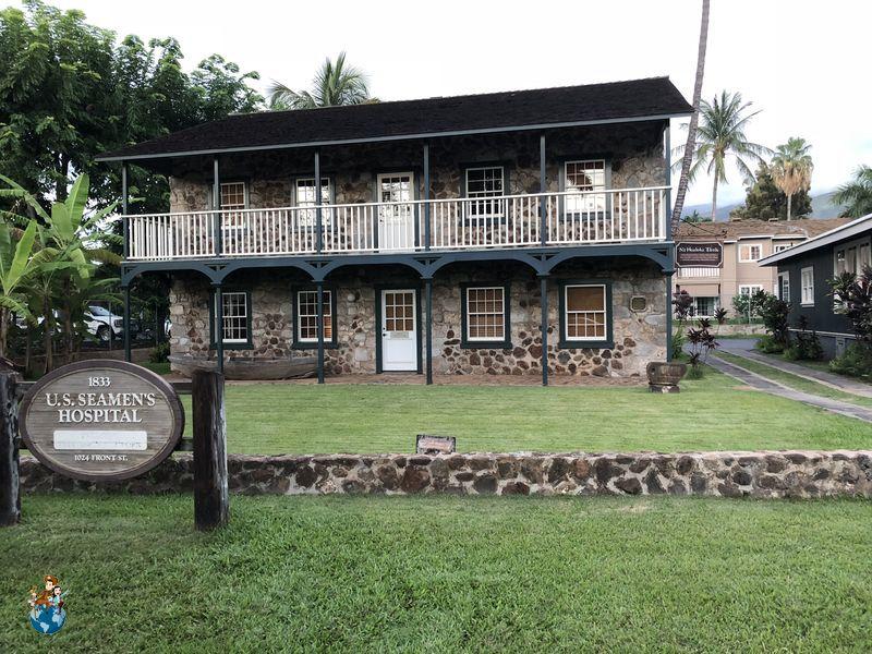 Seamen's House and Hospital - Lahaina