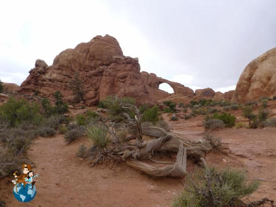 Skyline Arch - Parque Nacional Arches