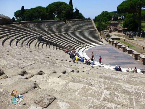 Teatro Ostia Antica