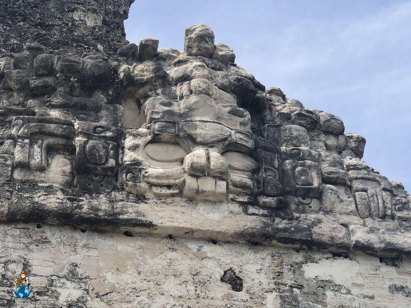 Templo de las Máscaras - Tikal