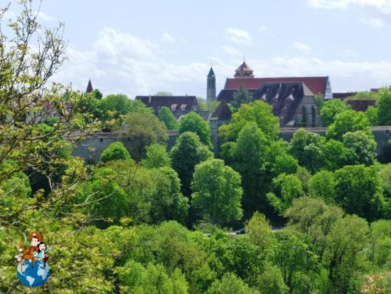 Vistas de Rothenburg ob der Tauber