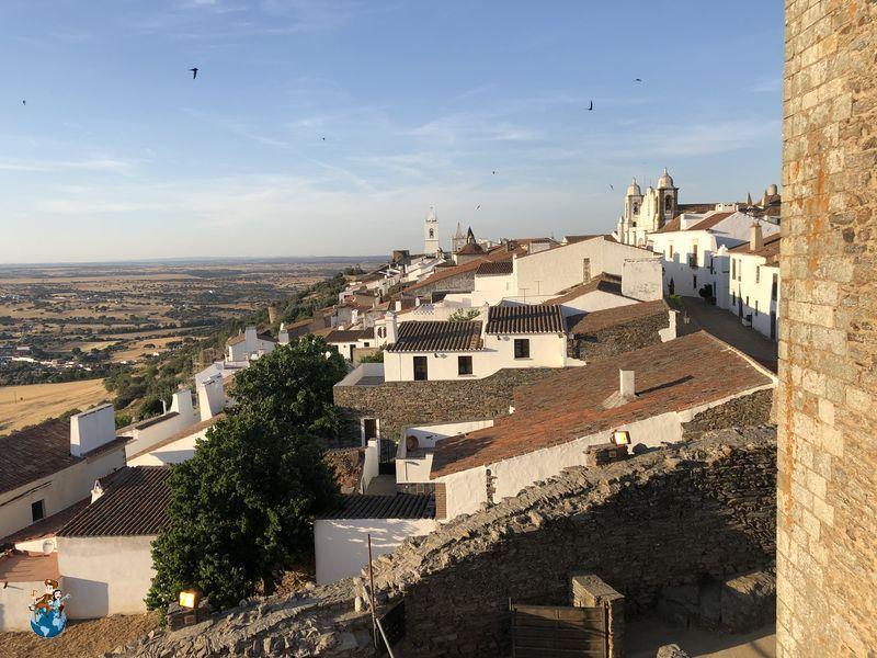 Vistas de Monsaraz desde el castillo