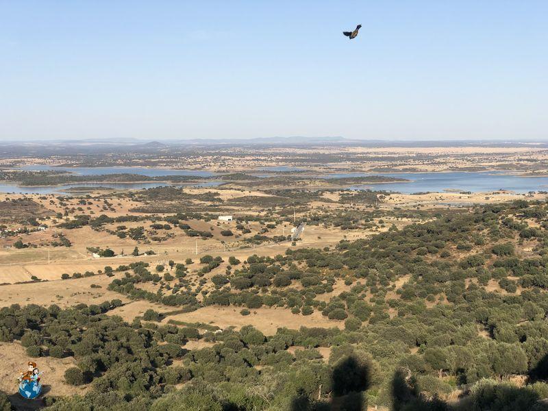 Vistas del Lago de Alqueva desde Monsaraz