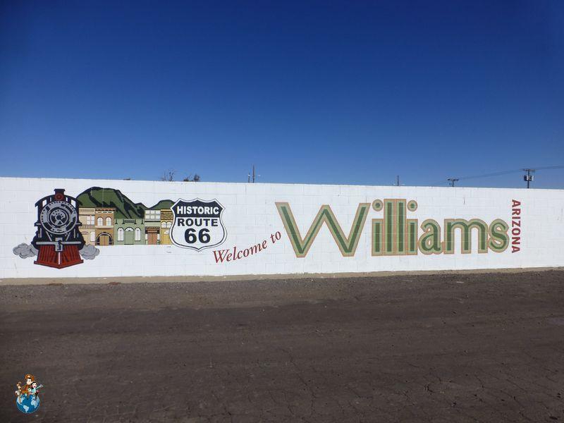 Ruta 66 a su paso por Williams